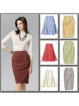 79c399c40 Skirts | Sewing Patterns | John Lewis & Partners