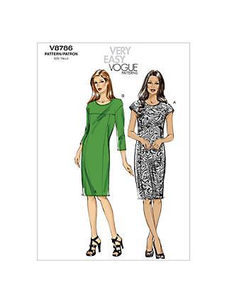Vogue Sewing Patterns John Lewis Partners