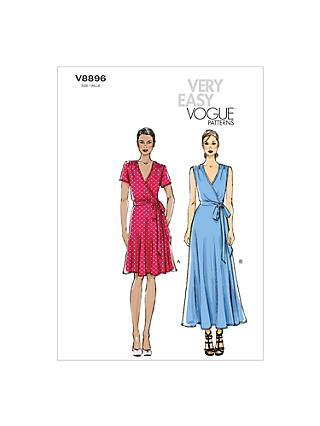 Vogue Women's Dresses Sewing Pattern, 8896