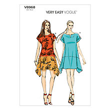 Buy Vogue Women's Dresses Sewing Pattern, 8968 Online at johnlewis.com