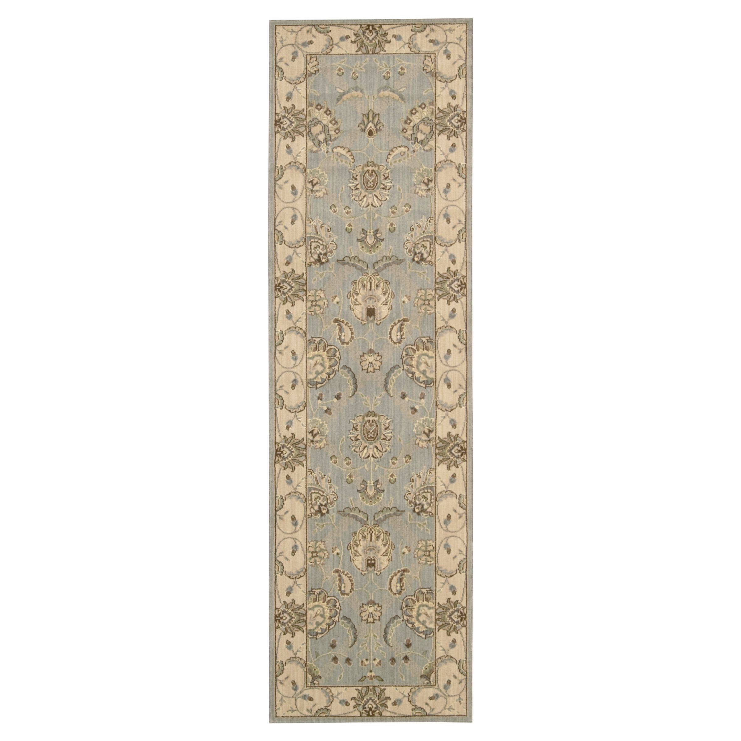 John Lewis Persian Empire Runner Rug Aqua