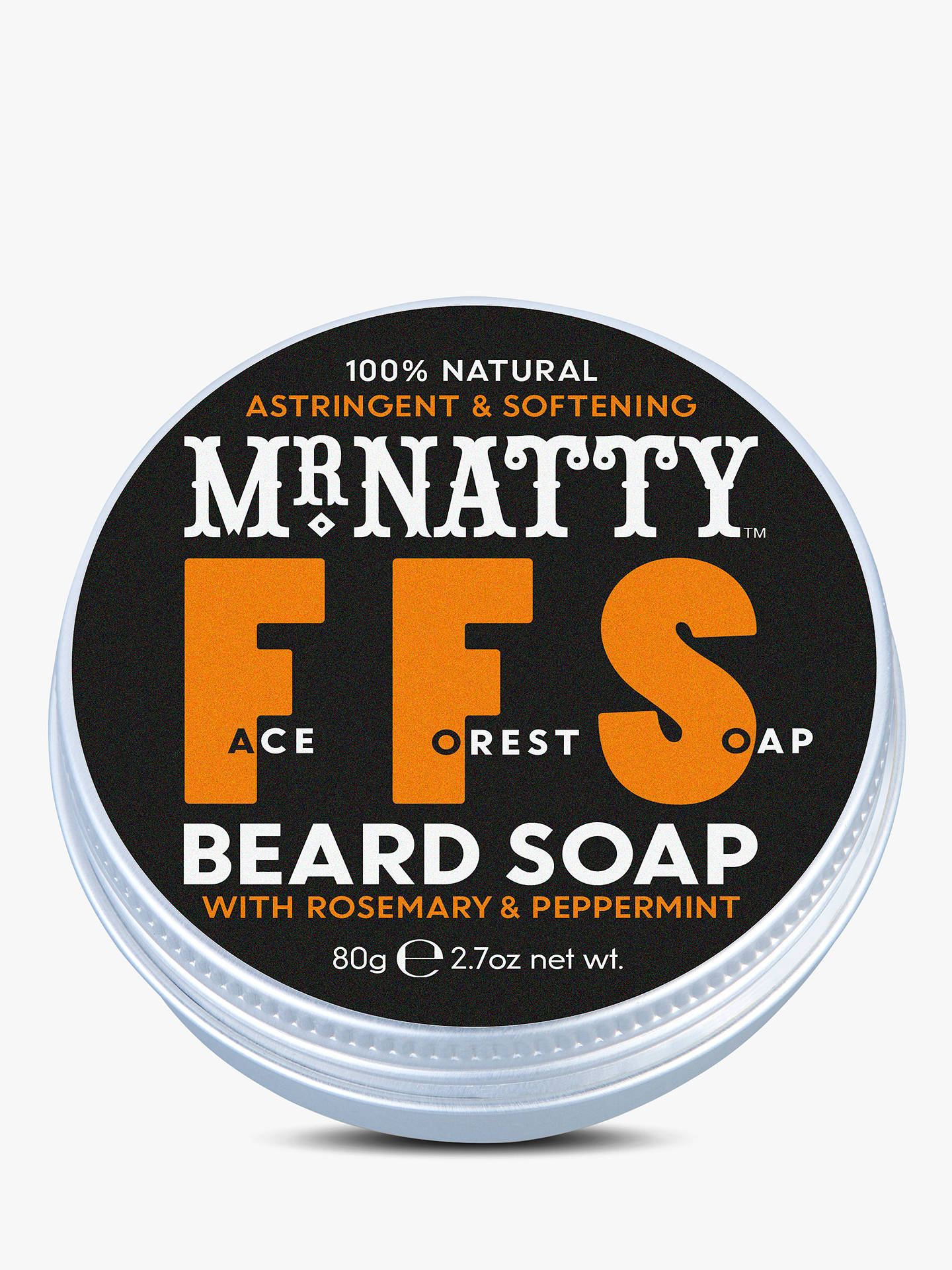 BuyMr Natty's Forest Face Beard Shampoo Online at johnlewis.com