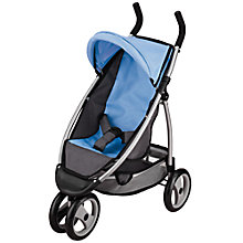 Buy John Lewis Dolls' Single Jogger, Grey/Blue Online at johnlewis.com
