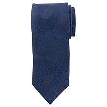 Buy John Lewis Tonal Paisley Silk Tie Online at johnlewis.com