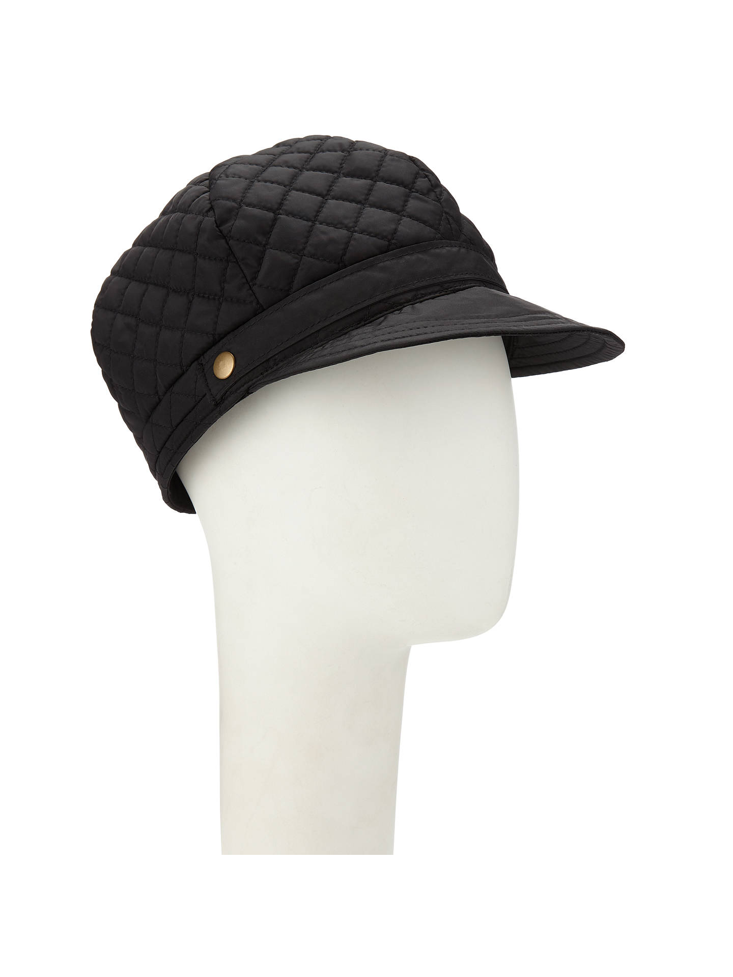 296a915b3dad3 Buy John Lewis   Partners Quilted Baker Boy Cap