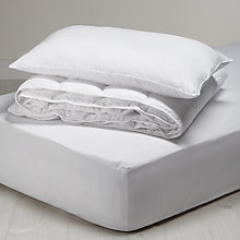 Buy little home at John Lewis Anti Allergy 7 Tog Single Duvet, Pillow and Mattress Protector Set Online at johnlewis.com