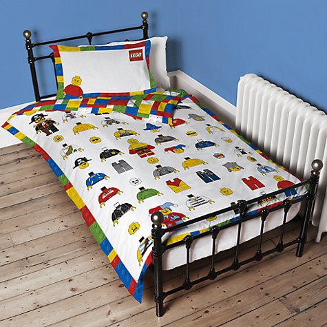 Lego Single Duvet Cover And Pillowcase Set Online At Johnlewis