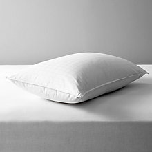 Buy John Lewis Supreme White Goose Down Standard Pillow, Soft/Medium Online at johnlewis.com