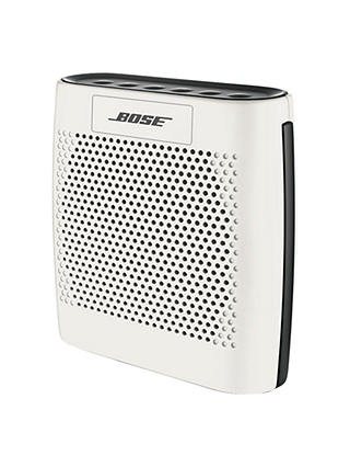 Buy Bose® SoundLink® Colour Bluetooth Speaker, White Online at johnlewis.com