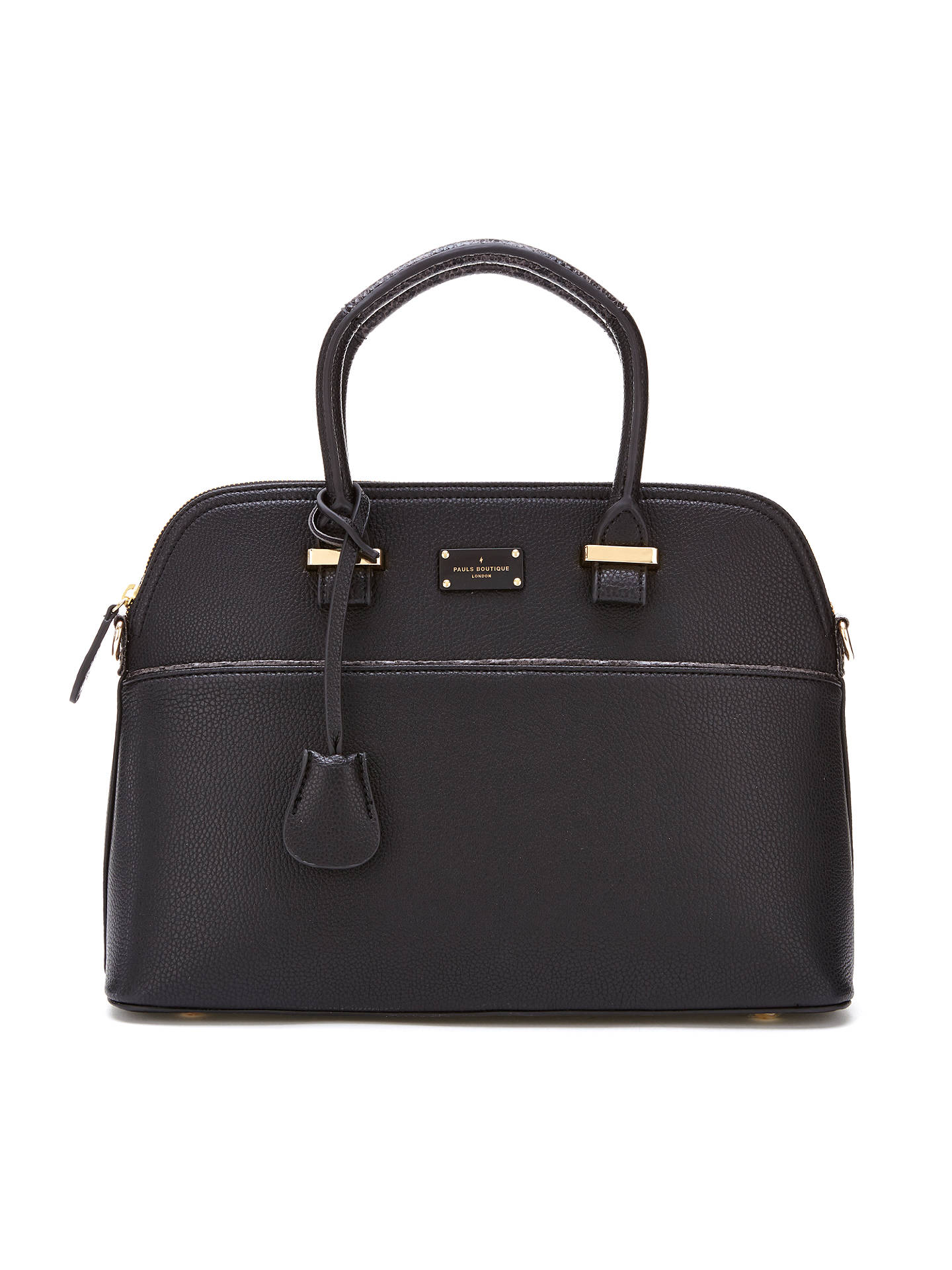 Maisy Colourblock Tote Bag Black