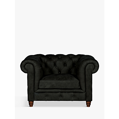 Halo Earle Chesterfield Leather Armchair
