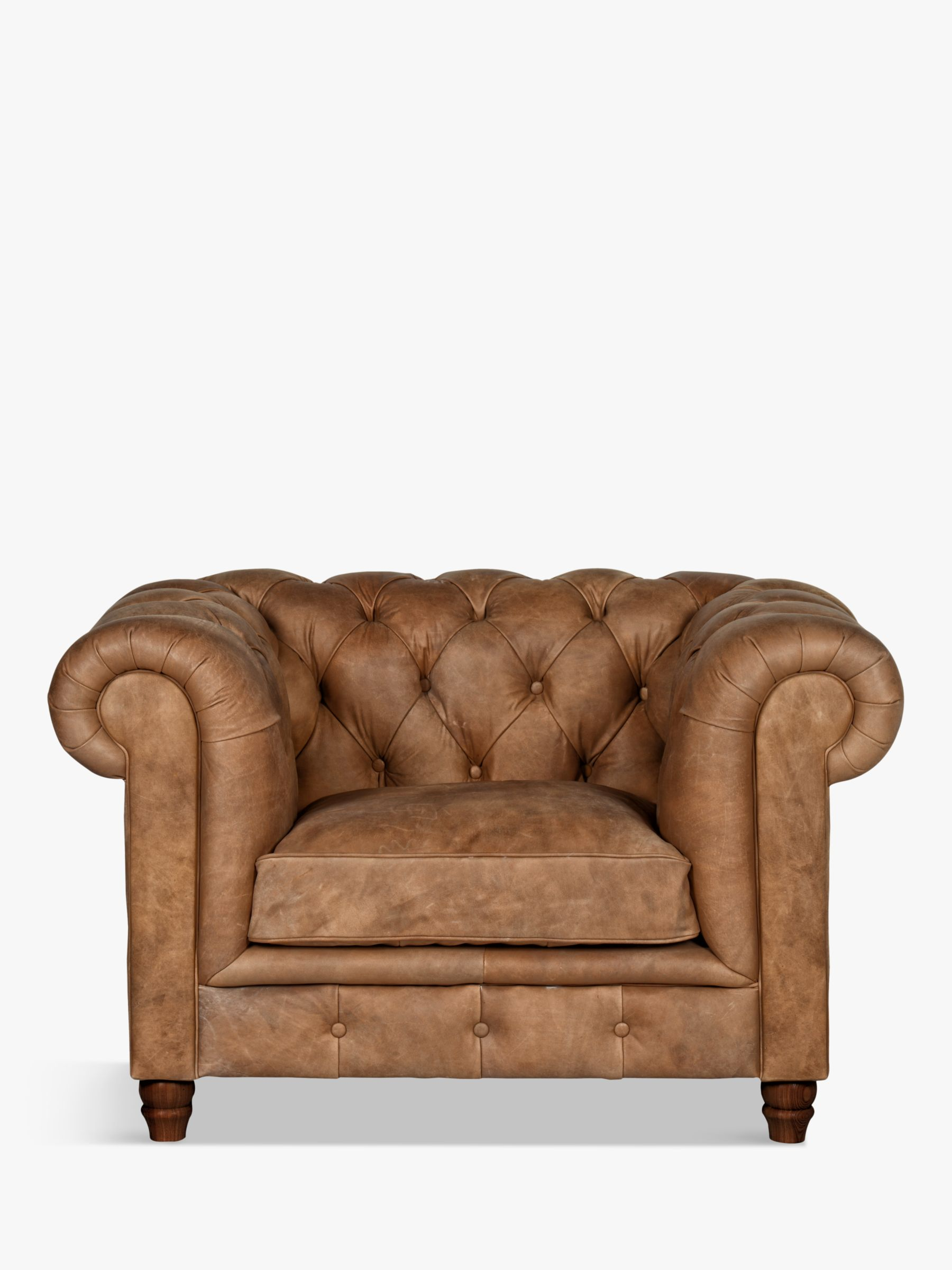 Halo Halo Earle Chesterfield Leather Armchair
