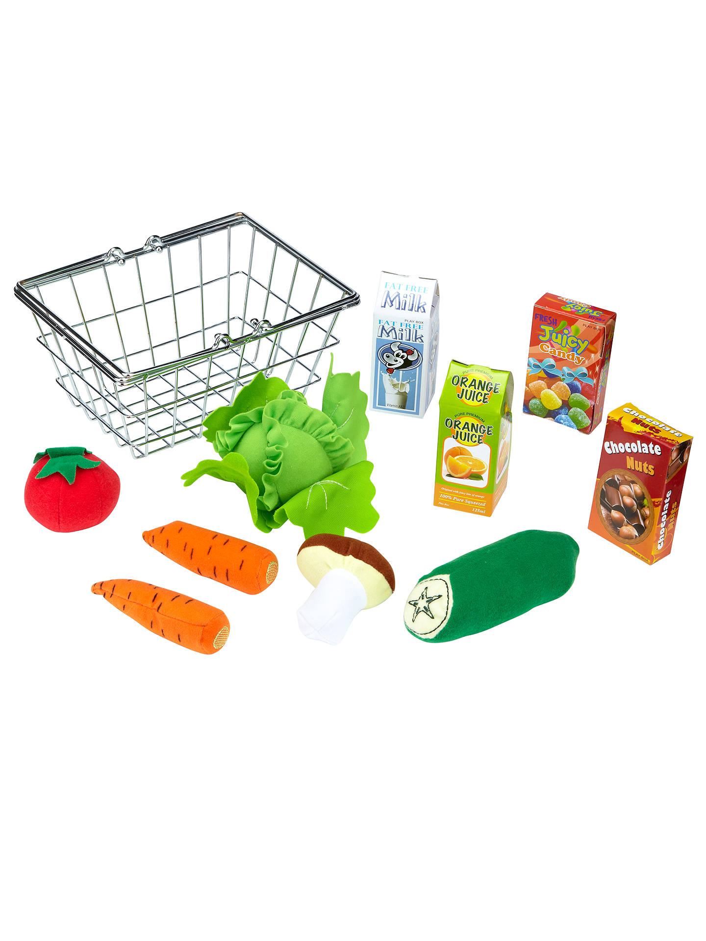 John Lewis Toy Groceries Shopping Basket At John Lewis Partners