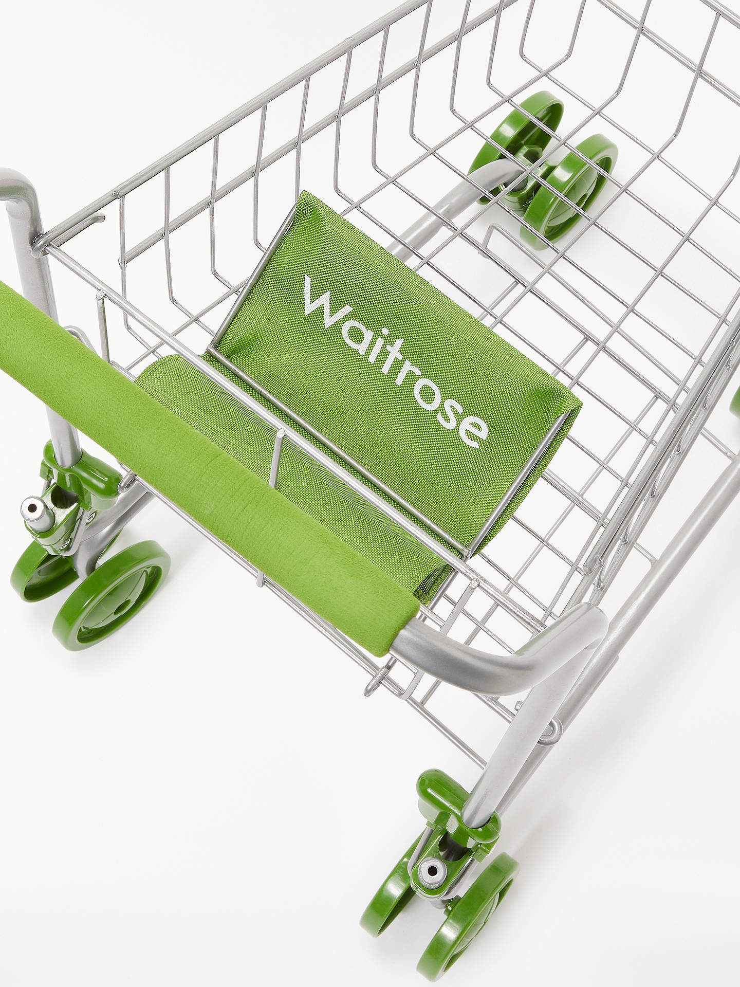 Buy John Lewis & Partners Toy Waitrose Shopping Trolley Online at johnlewis.com