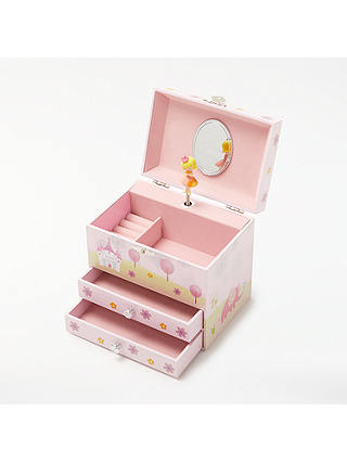 Buy John Lewis & Partners Little Princess Jewellery Box Chest Online at johnlewis.com