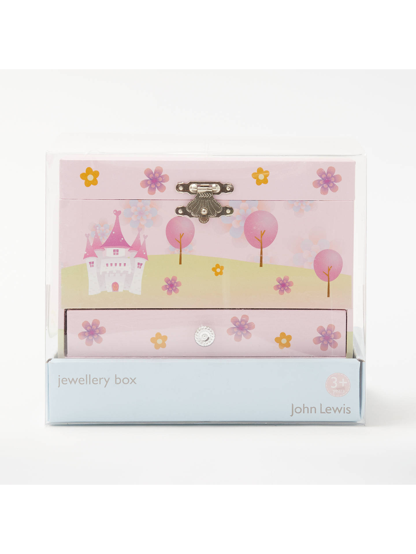 BuyJohn Lewis & Partners Little Princess Jewellery Box Chest Online at johnlewis.com