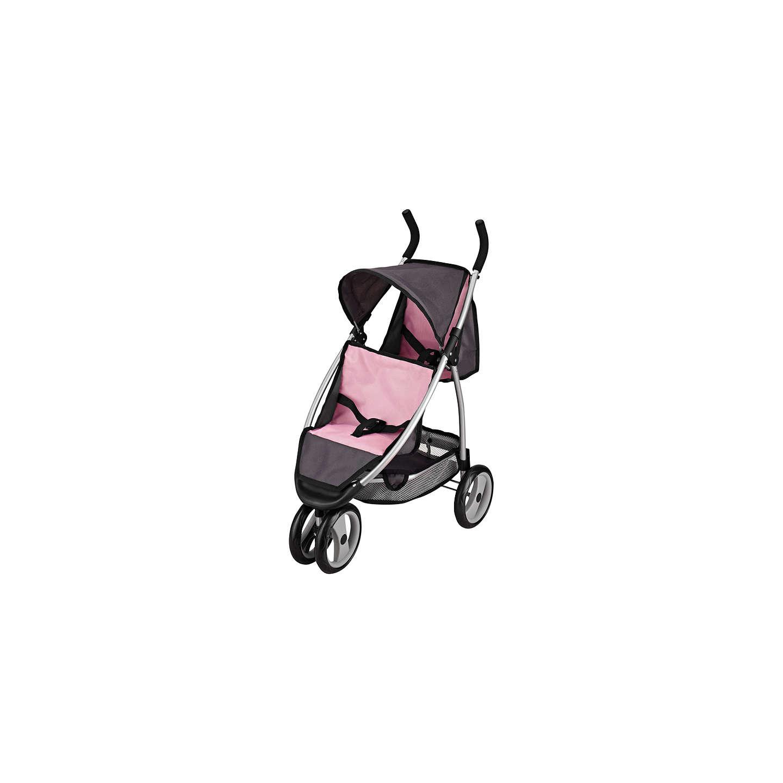 John Lewis Baby Doll Twin Pushchair Pink Grey At John Lewis