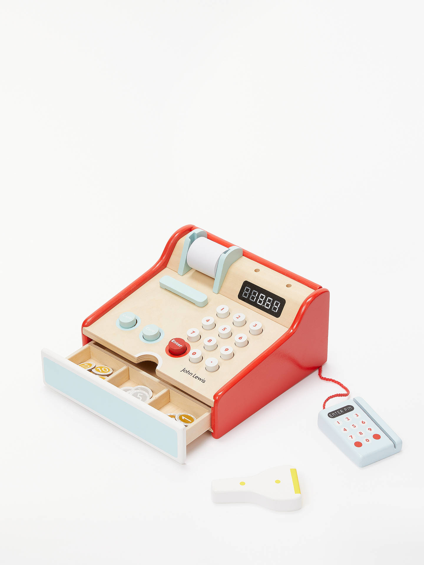 Buy John Lewis & Partners Wooden Cash Register Online at johnlewis.com