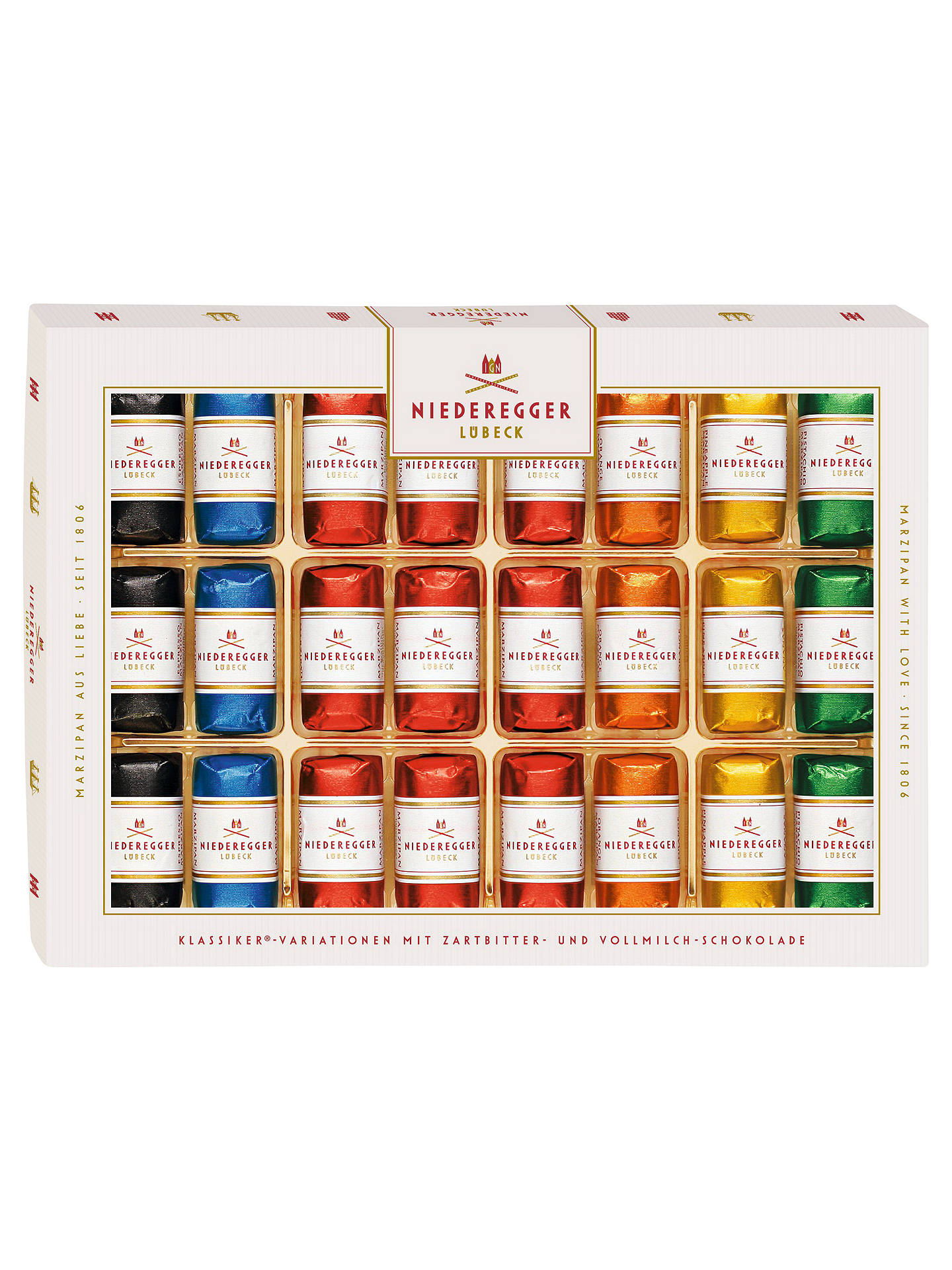 BuyNiederegger Flavoured Marzipan Mini Loaf Assortment, 300g Online at johnlewis.com