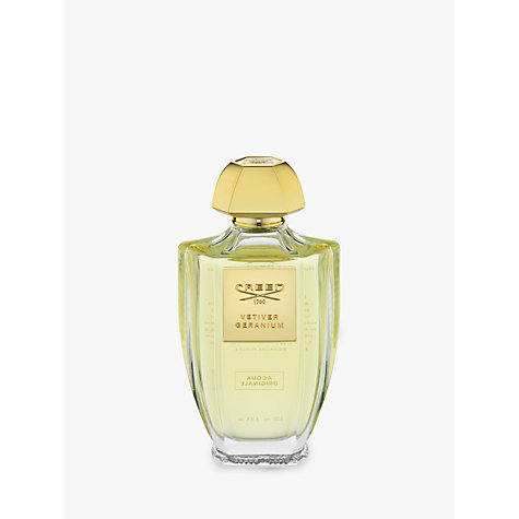 Buy CREED Acqua Originale Vetiver Geranium Eau de Parfum, 100ml Online at johnlewis.com