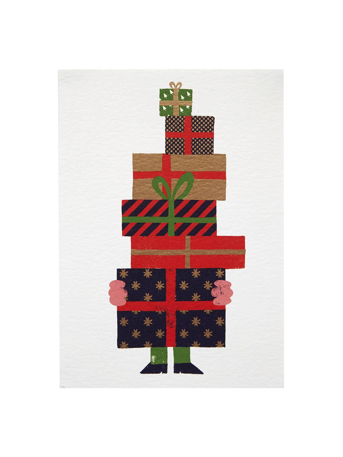Lagom Designs Christmas Gits Christmas Card at John Lewis & Partners