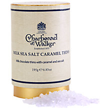 Buy Charbonnel et Walker Sea Salt Caramel Milk Chocolate Thins, 195g Online at johnlewis.com