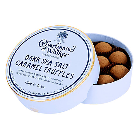 Charbonnel et Walker Sea Salt Dark Caramel Truffles, 120g £12.50