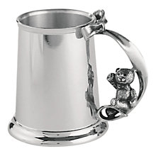 Buy Royal Selangor Pewter Christening Mug Online at johnlewis.com