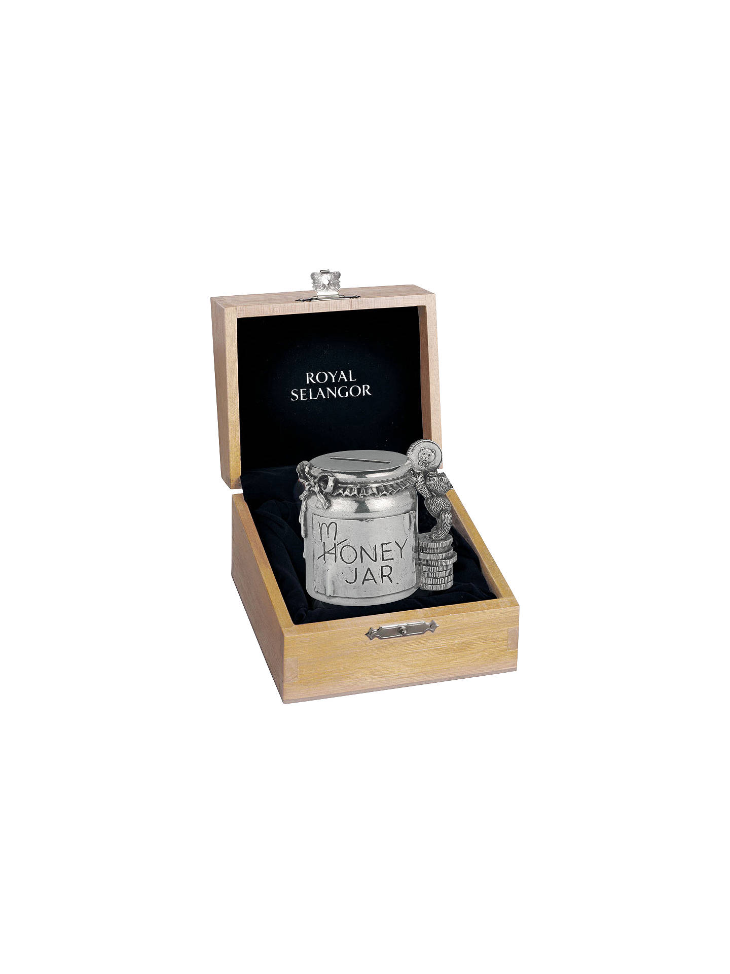 BuyRoyal Selangor Pewter Money Jar Online at johnlewis.com