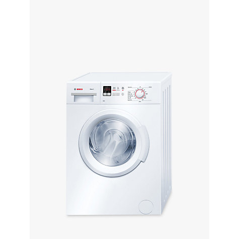 buy bosch wab28161gb freestanding washing machine 6kg load a energy rating 1400rpm spin. Black Bedroom Furniture Sets. Home Design Ideas