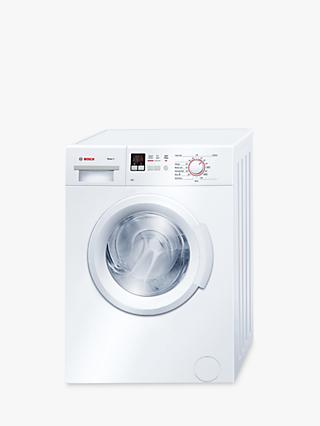 Bosch WAB28161GB Freestanding Washing Machine, 6kg Load, A+++ Energy Rating, 1400rpm Spin, White