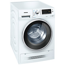 Buy Siemens WD14H421GB Washer Dryer, 7kg Wash/4kg Dry Load, A Energy Rating, 1400rpm Spin, White Online at johnlewis.com
