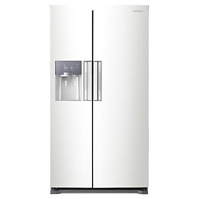 Image of Samsung RS7667FHCWW American Style Fridge Freezer, White