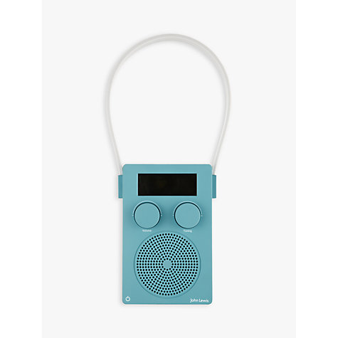 Superb Buy John Lewis Spectrum DAB/FM Portable Digital Shower Radio Online At  Johnlewis.com ...