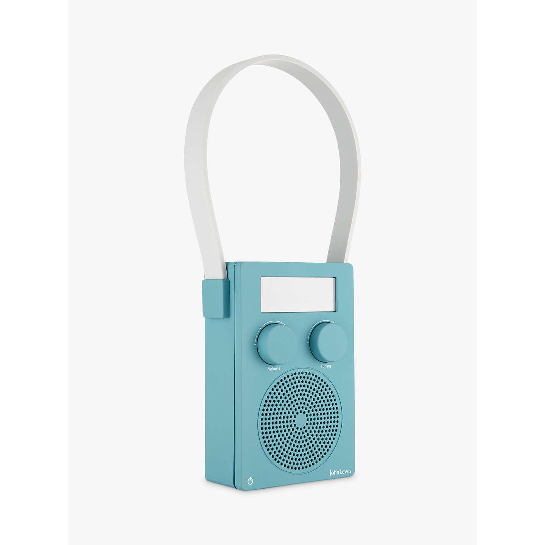 John Lewis Spectrum DAB/FM Portable Digital Shower Radio at John Lewis