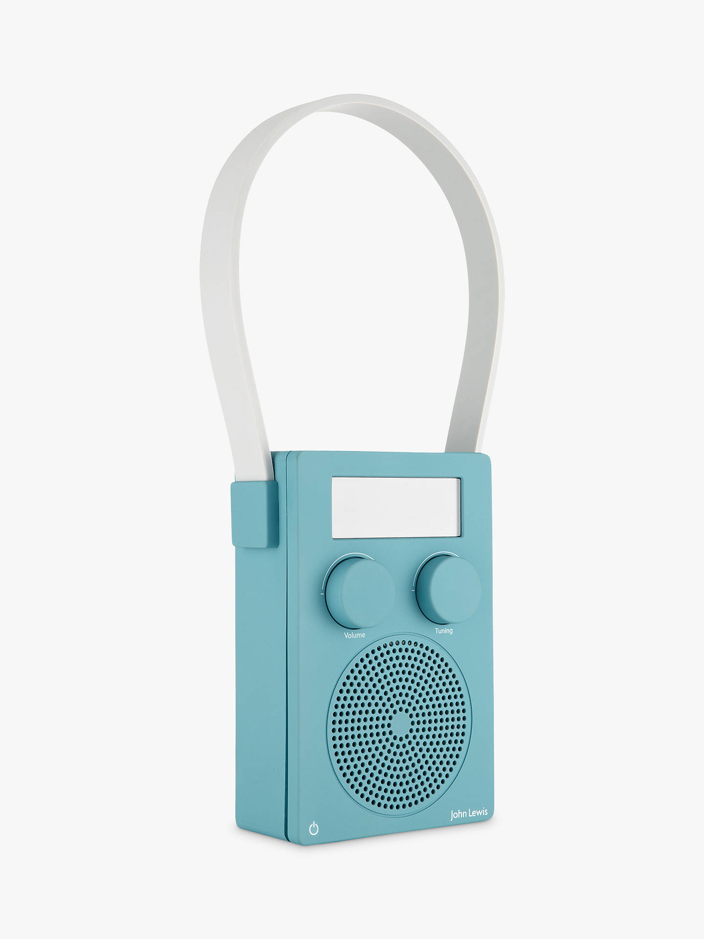 John Lewis & Partners Spectrum DAB/FM Portable Digital Shower Radio ...