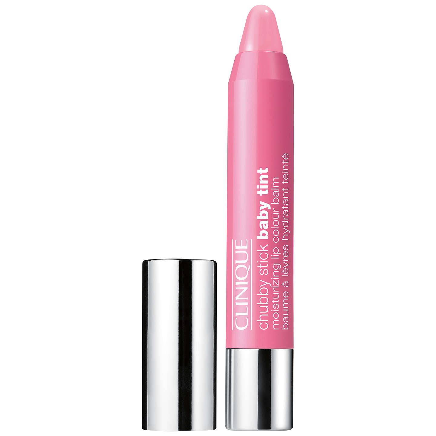 BuyClinique Chubby Baby Tint Lip Gloss, Budding Blossom Online at johnlewis.com
