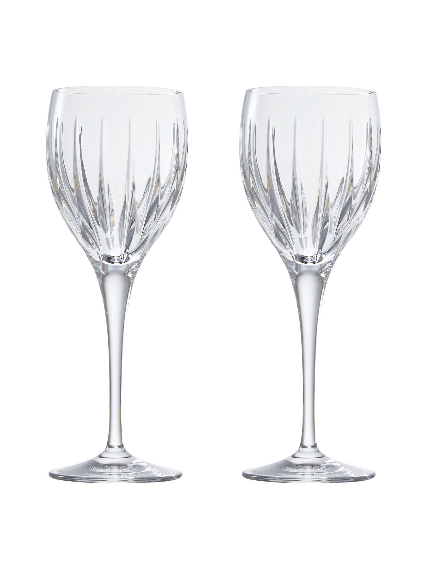 john lewis glacier cut lead crystal wine glasses 790ml. Black Bedroom Furniture Sets. Home Design Ideas