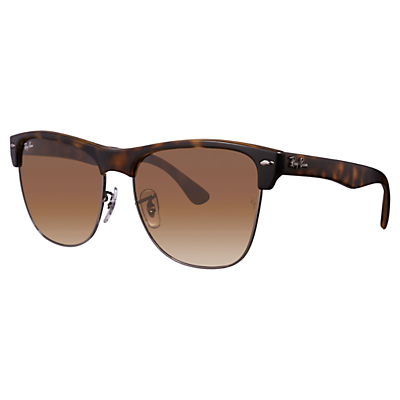 Product photo of Rayban rb4175 clubmaster oversized sunglasses havana