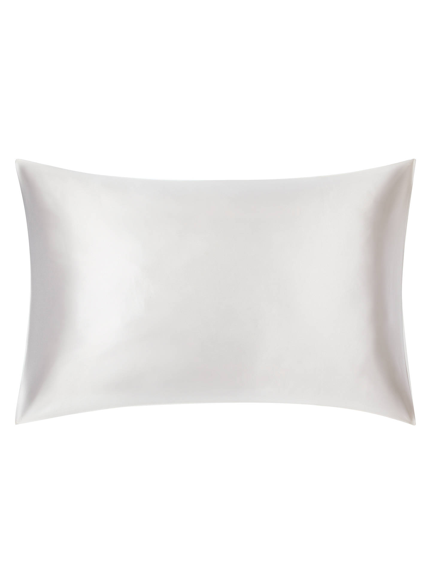Buy John Lewis & Partners The Ultimate Collection Silk Standard Pillowcase, White Online at johnlewis.com