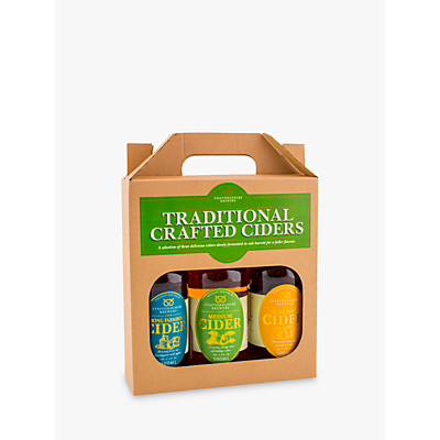 Product photo of Staffordshire brewery traditional crafted ciders set 3 x 500ml