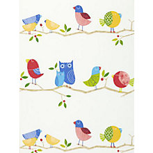 Buy Harlequin What a Hoot Wallpaper Online at johnlewis.com