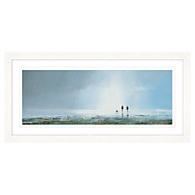 Buy Michael Sanders - Passing Storm Framed Print, 107 x 52cm Online at johnlewis.com