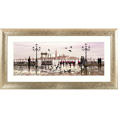 Richard Macneil – Venice: End Of Day Framed Print, 112 x 57cm
