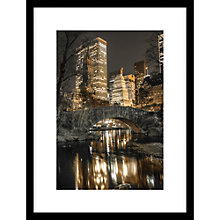 Buy Assaf Frank - Central Park Reflections Framed, 84 x 64cm Online at johnlewis.com