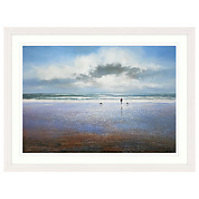 Buy Michael Sanders - A Walk On The Beach, 87 x 107cm Online at johnlewis.com