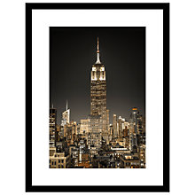 Buy Assaf Frank - New York City Lights Framed, 84 x 64cm Online at johnlewis.com