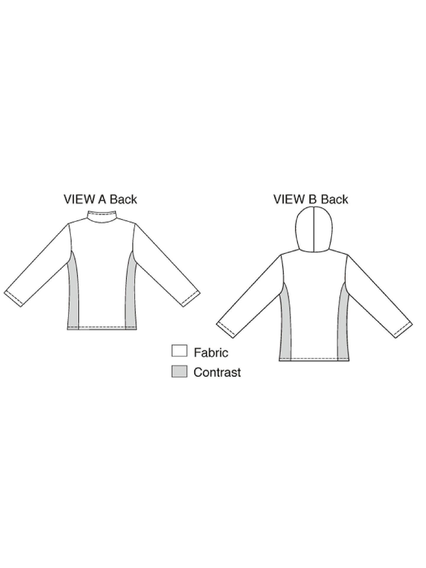 Kwik Sew Misses' Fleece Jackets Sewing Patterns, 3297 at