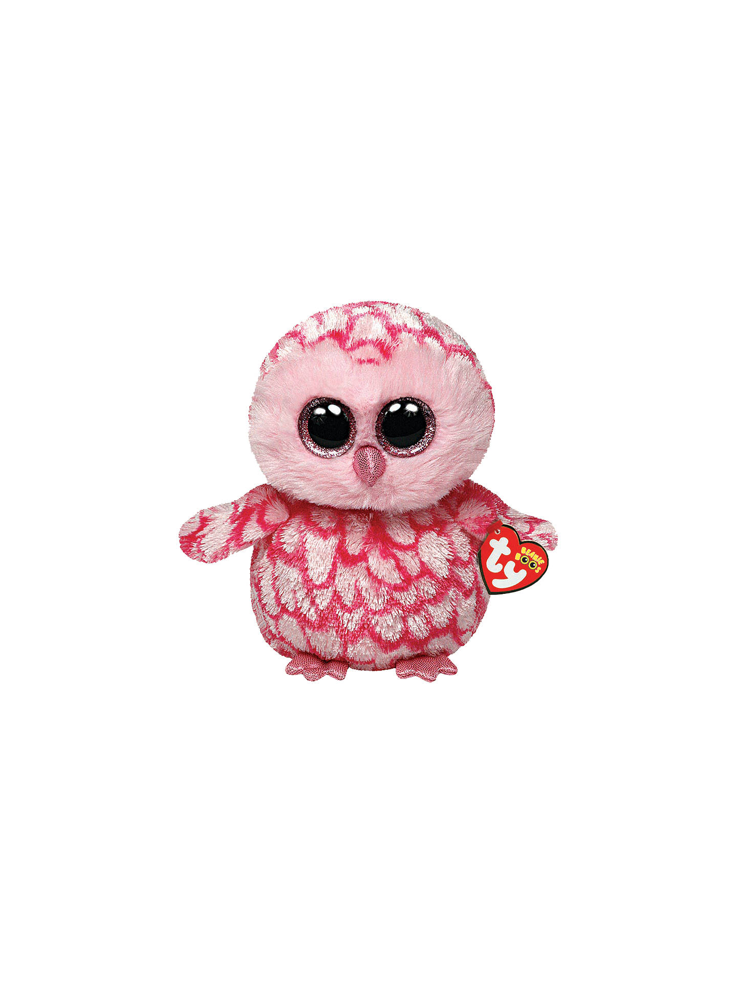 17a5ae81bcd BuyTy Beanie Boo Pinky Owl Soft Toy
