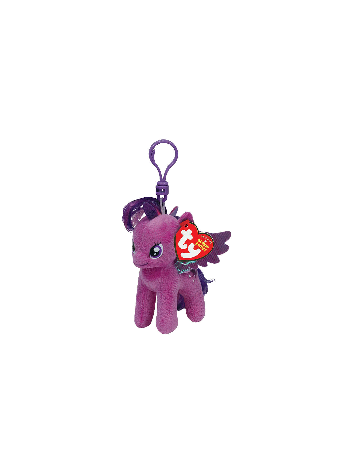 16d0cfdc02e BuyTy My Little Pony Beanie Babies Clips